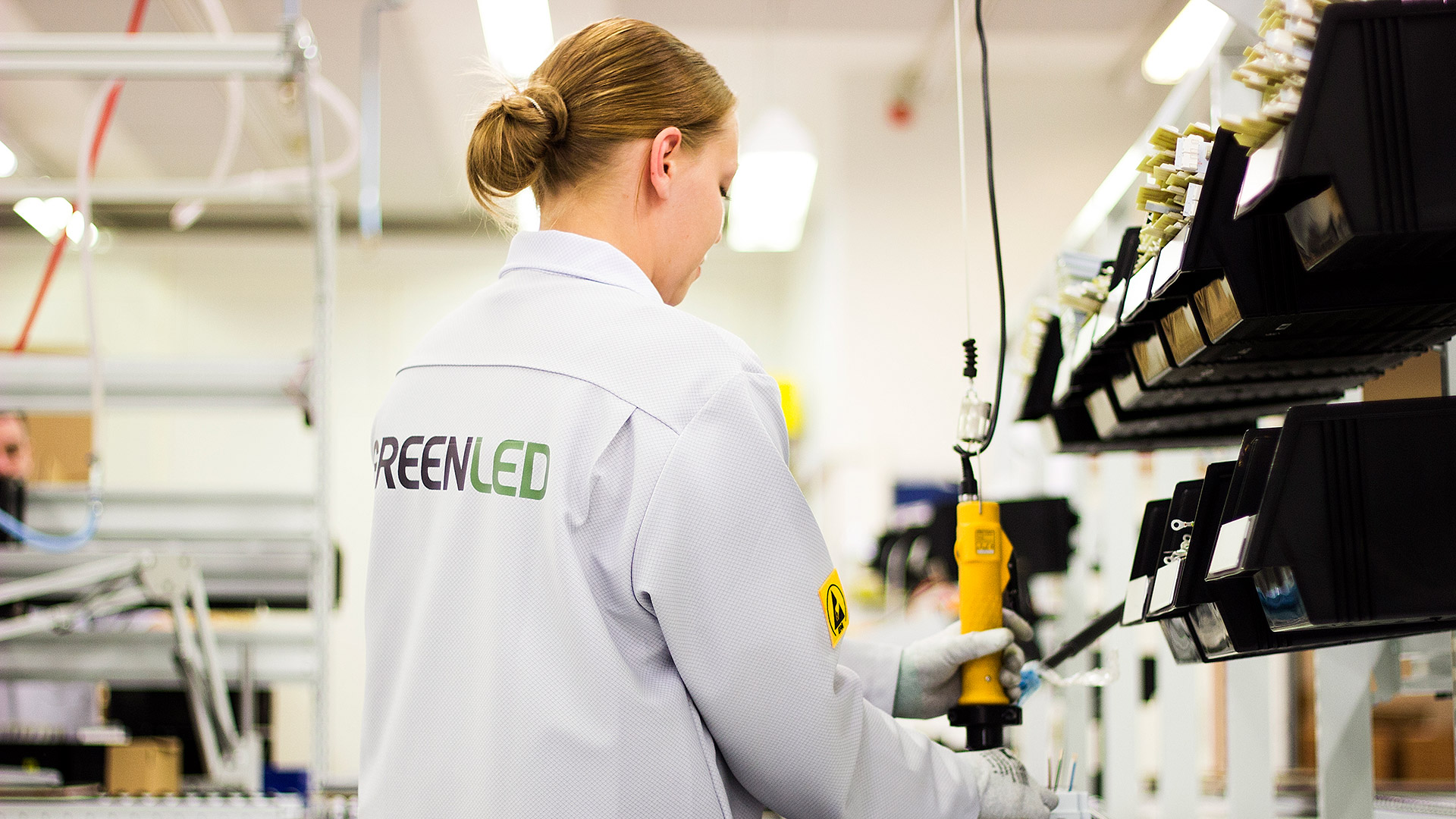 Greenled street luminaires are manufactured at the company's own factory in Kempele