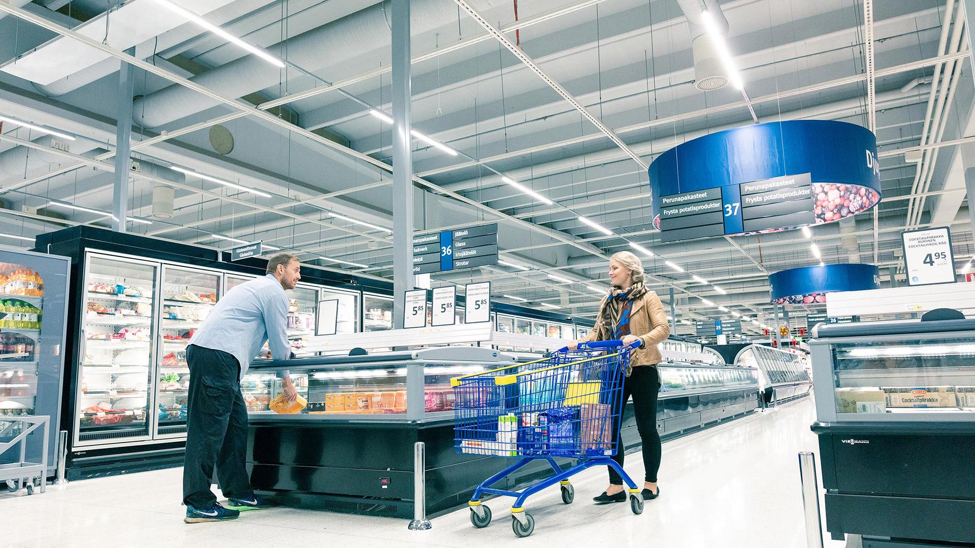Älykkäät myymälävalaisimet lisäävät myyntiä ja tuovat säästöjä