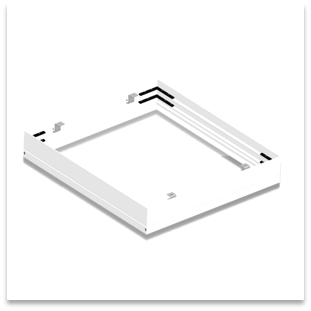 5405048 600×600 Ceiling surface installation frame