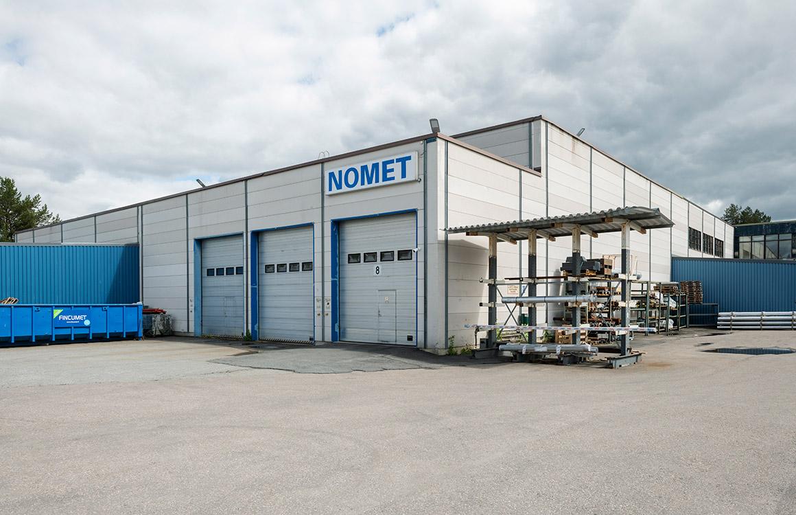 Nomets utomhusbelysning understryker energibesparingar, arbetssäkerhet, effektivitet och komfort.