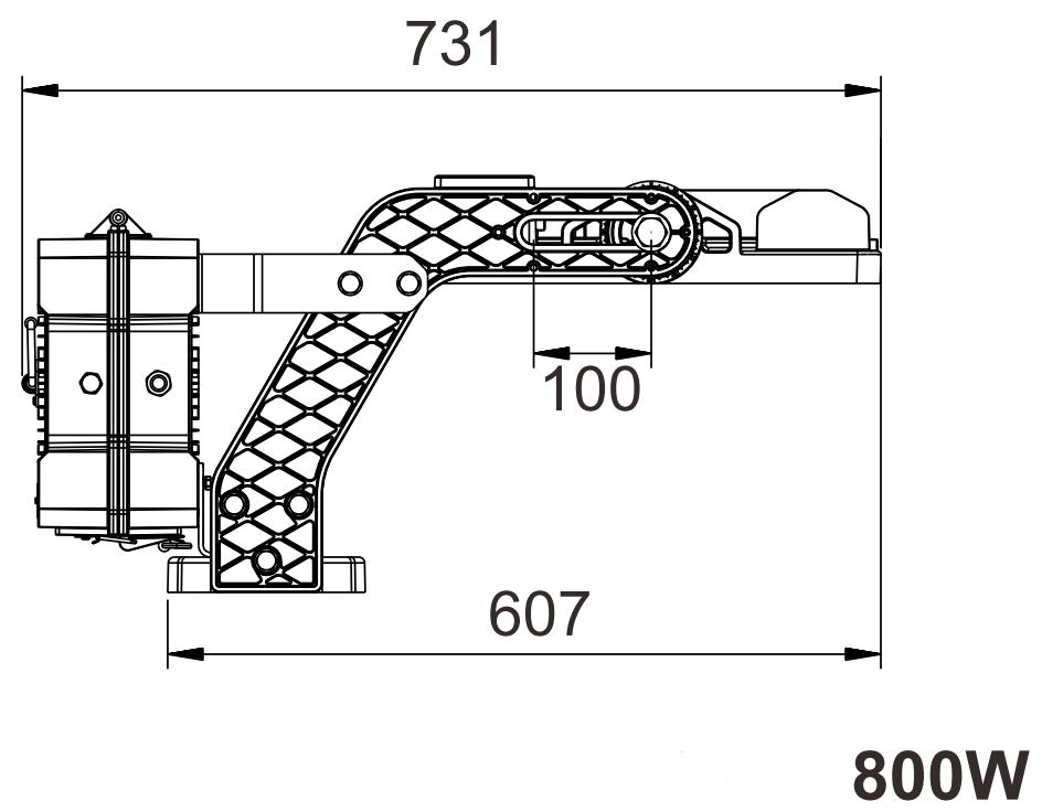 Rigel Gen2 800W measurements